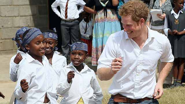 Prince Harry loves Africa