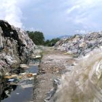 Landfill site Malaysia containing British waste