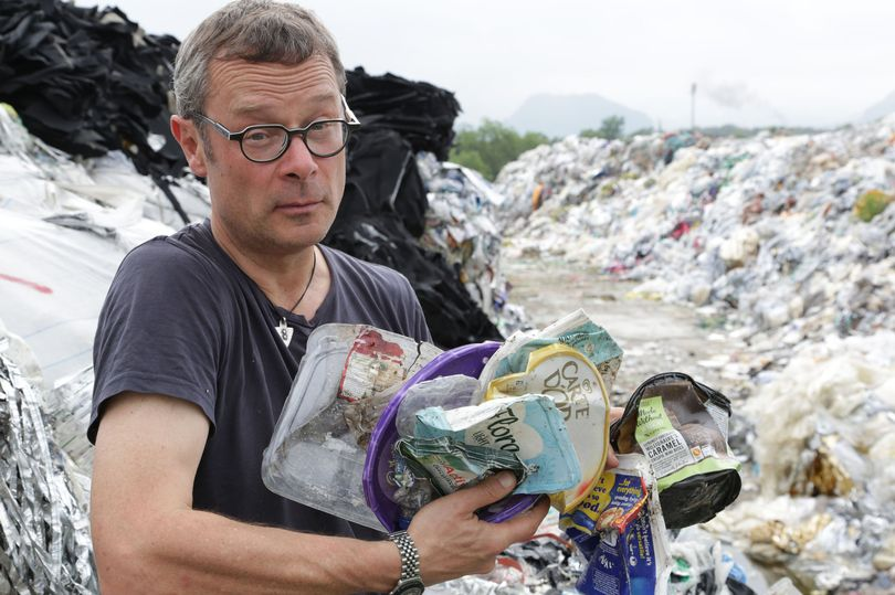 Mr Fearnley-Whittingstall at the dump. Shocking. Photo: BBC/Keo Films/Tom Beard