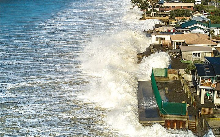 Sea level rise is worse in the Pacific