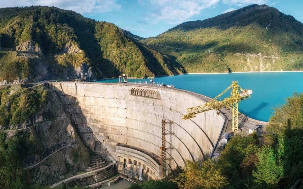 Stiegler's Gorge Hydroelectric Power Station as it will look when built. Thanks to the Daily Telegraph.
