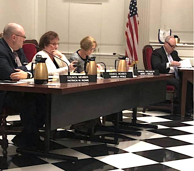 Madison Borough Council meeting. Photo: fair use.