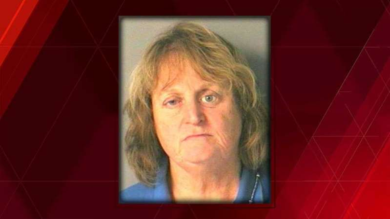 Nancy Bucciarelli, 66, pushed her dog into the lake and watched it drown. Photo: © Merrimack PD