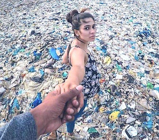 Horrible but great picture of plastic pollution