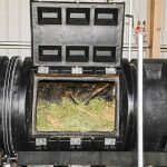 The machine that composts the bodies. Photo: CAHNRS Communications / Washington State Univ