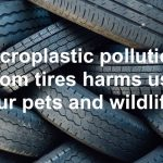 Microplastic pollution from tires