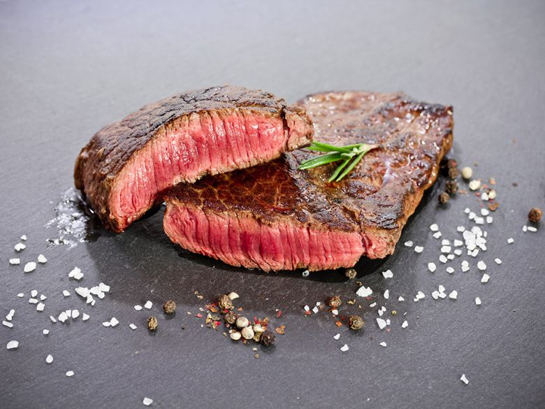 Lab grown beef steak