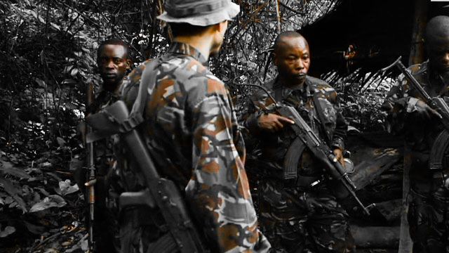 Tracking poachers in the Congo