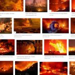 The news on California's forest fires