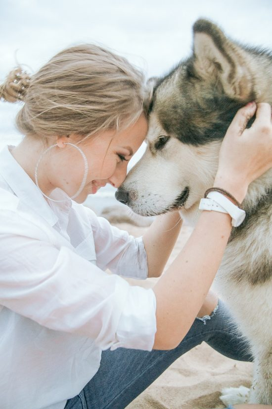 Love for a dog is beneficial to both