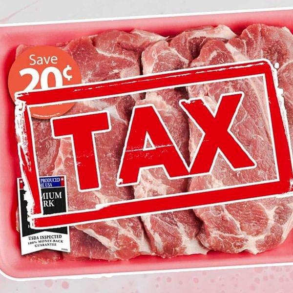 Tax meat