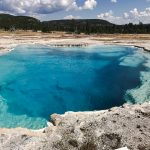 Thermal water feature Yellowstone NP