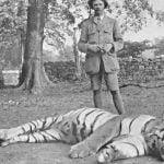 Jim Corbett and man-eating tiger
