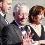 Nick Hewer in the middle